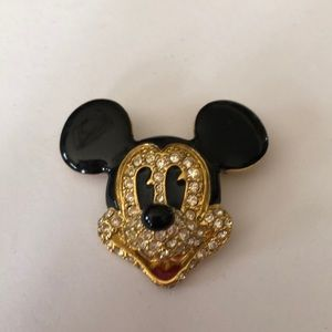 Napier Mickey Mouse Brooch-Mint condition
